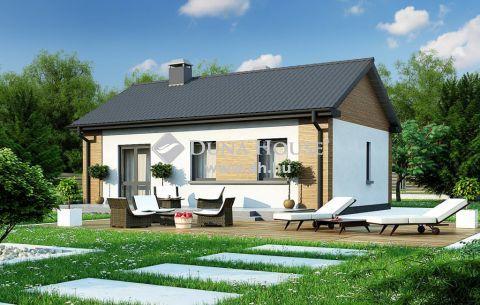 Eladó Ház, Bács-Kiskun megye, Kecskemét - Vacsiközben 59 m2-es, új, 4kW napelemes téglaház