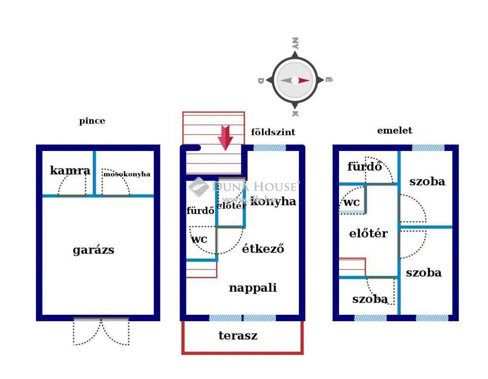 Eladó Ház, Pest megye, Nagykőrös - Ikerház eladó