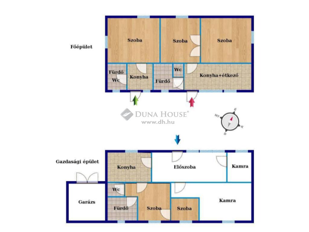 Eladó Ház, Bács-Kiskun megye, Kecskemét - KADAFALVA