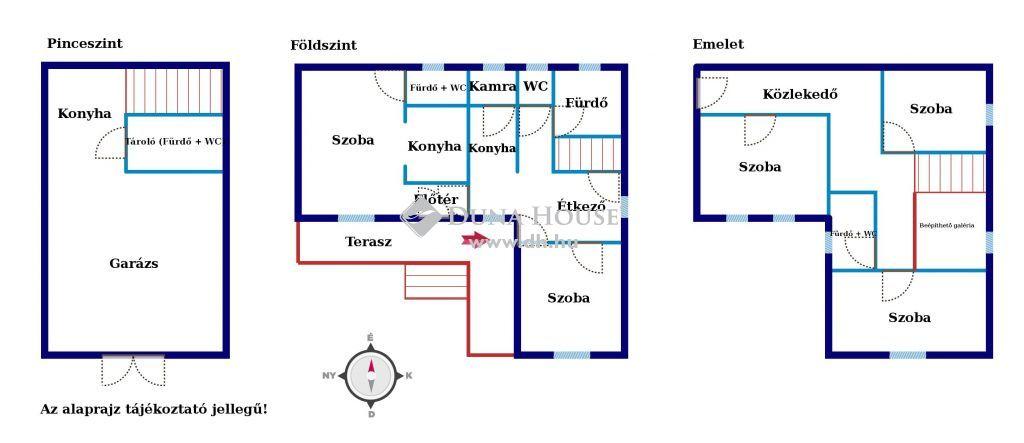 Eladó Ház, Veszprém megye, Balatonalmádi - Panorámás